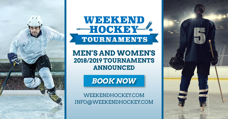 Ice Hockey Weekend Hockey Tournaments Montreal Qc April 2019 In